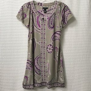 Dresses & Skirts - Paisley Beaded Shift Dress